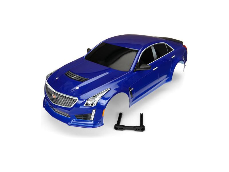 Traxxas karosérie Cadillac CTS-V modrá: 4-Tec 2.0, TRA8391A