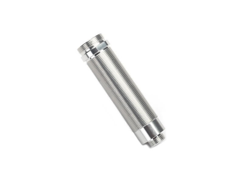 Traxxas tělo tlumiče GTR 64mm stříbrné se závitem, Traxxas 8452, TRA8452