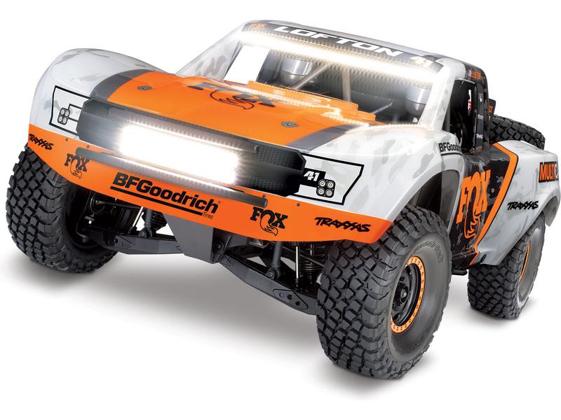 Traxxas Unlimited Desert Racer 1:8 TQi RTR s LED Fox