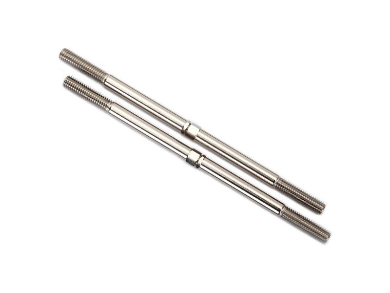 Traxxas ocelová ojnička řízení s koncovkami (2), Traxxas 8638 , TRA8638