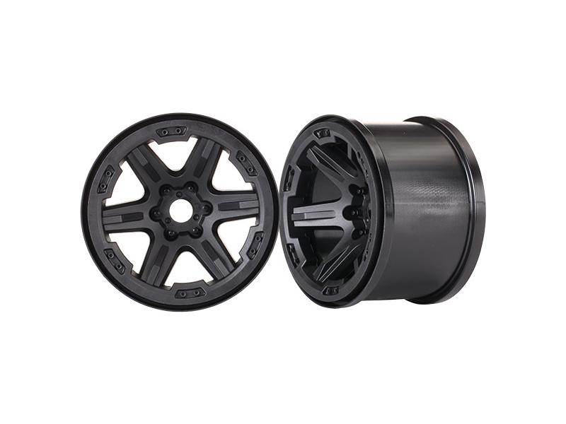 """Traxxas disk 3.8"""" černý (2) 17mm drážkovaný, Traxxas 8671 , TRA8671"""