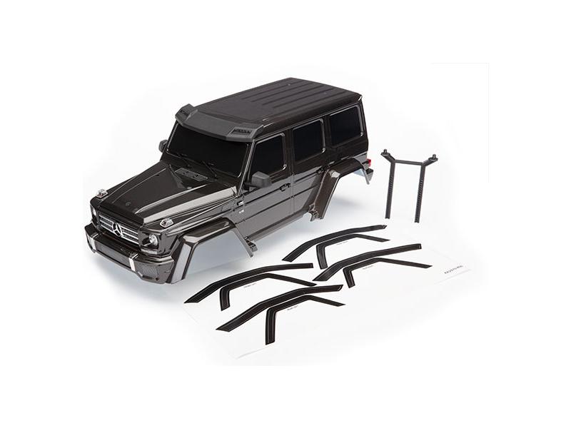 Traxxas karosérie Mercedes-Benz G 500 kompletní černá, Traxxas 8811R, TRA8811R