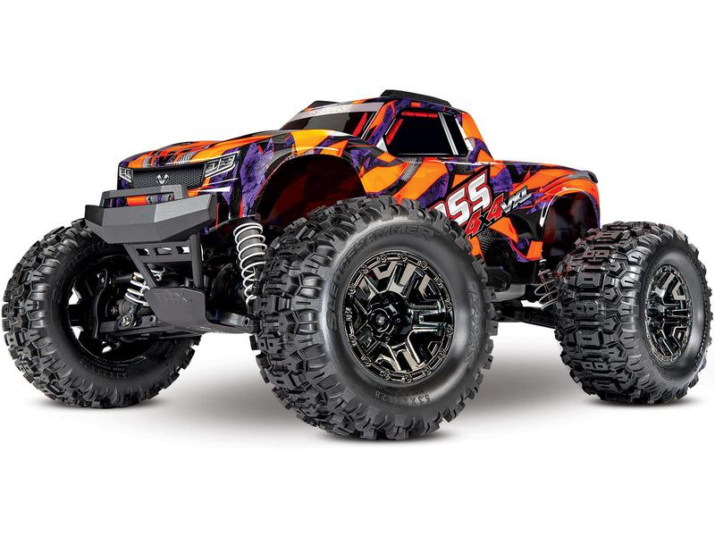 Traxxas Hoss 1:10 VXL 4WD RTR oranžový