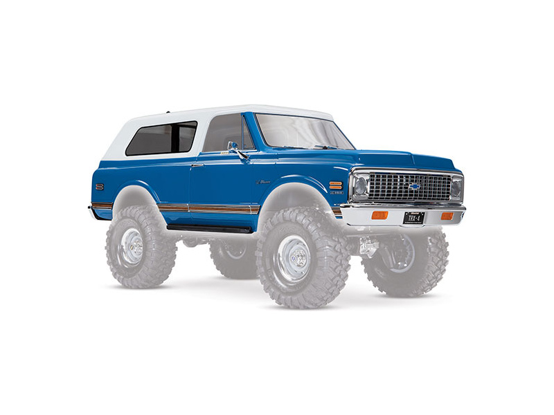 Traxxas karosérie Chevrolet Blazer 1972 modrá, Traxxas 9111X, TRA9111X