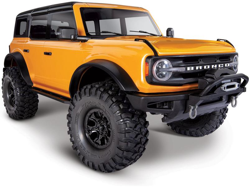Produkt anzeigen - 1:10 Traxxas TRX-4 Ford Bronco 2021 TQi RTR (Orange)