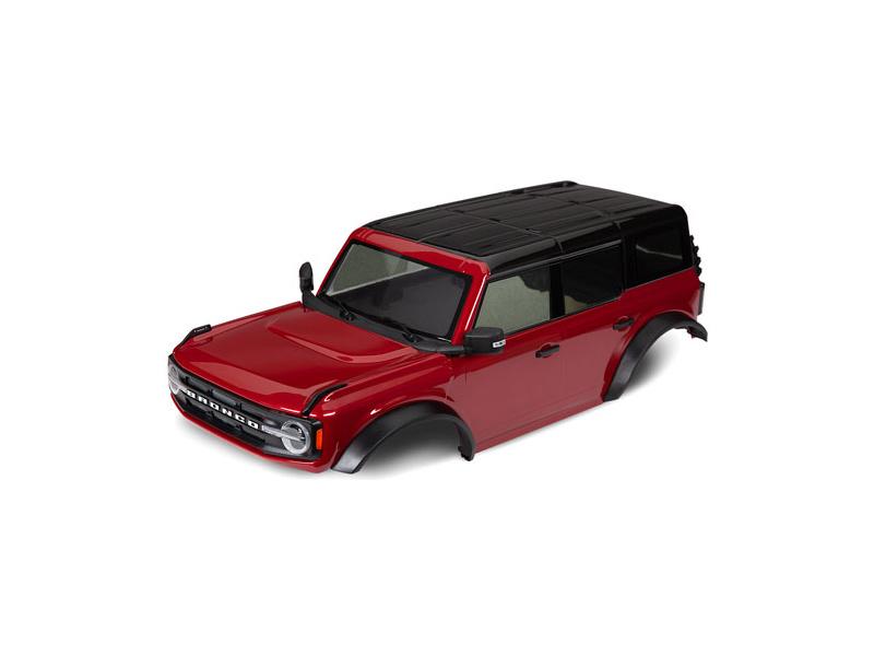 1:10 Traxxas TRX-4 Ford Bronco 2021: Karoserie (červená)