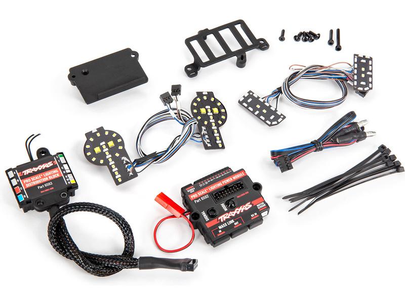 Traxxas LED osvětlení kompletni Pro Scale (pro Ford Bronco 2021), TRA9290