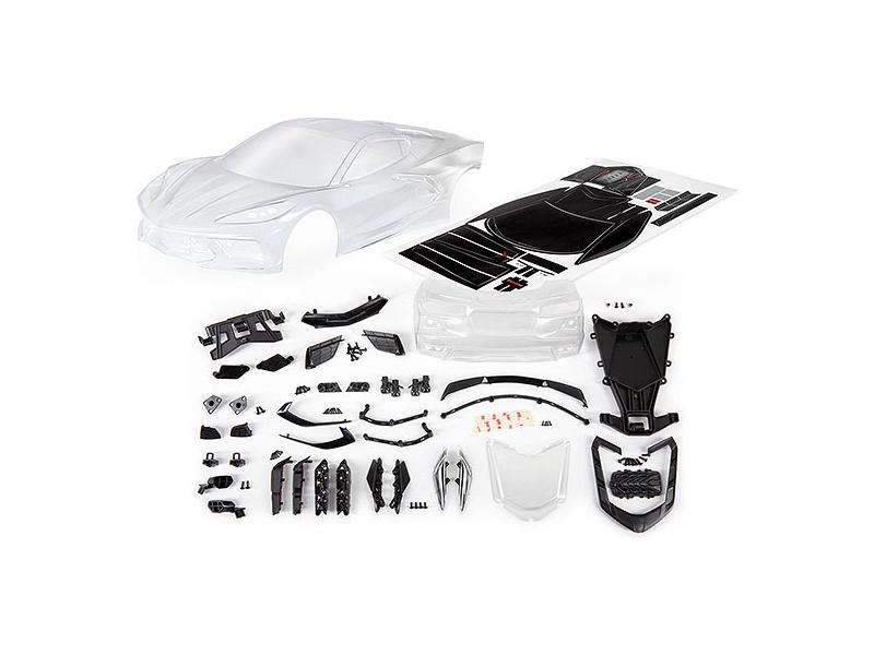 Traxxas karosérie Chevrolet Corvette Stingray čirá, TRA9311