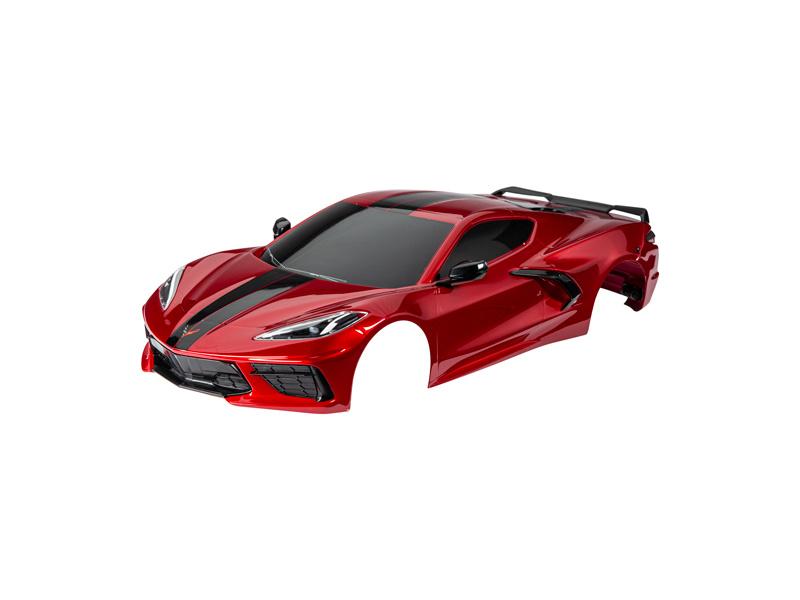 Traxxas karosérie Chevrolet Corvette Stingray červená, TRA9311R
