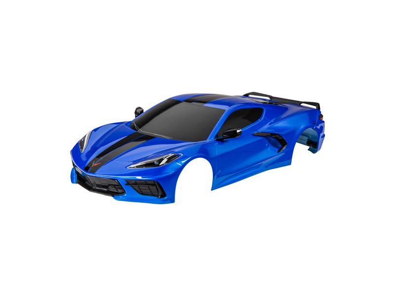 Traxxas karosérie Chevrolet Corvette Stingray modrá, TRA9311X