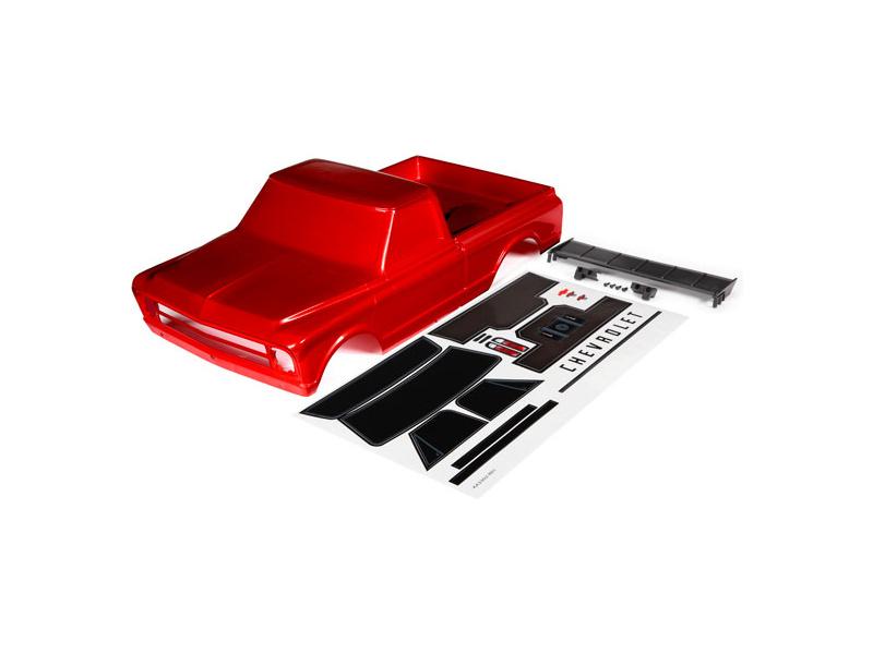 Traxxas karosérie Chevrolet C10 červená, TRA9411R