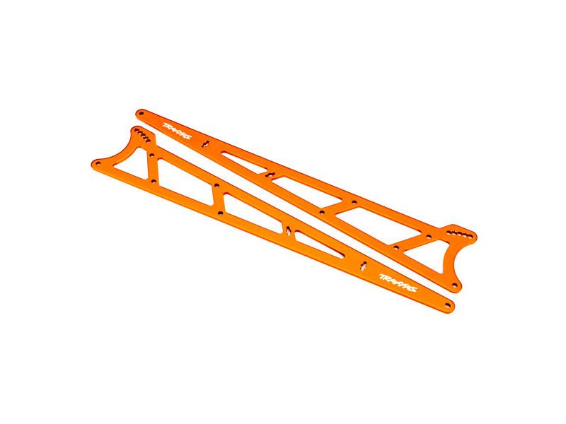 Traxxas boční rám wheelie oranžový 2), TRA9462A