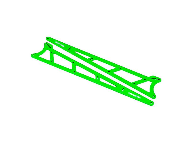 Traxxas boční rám wheelie zelený (2), TRA9462G