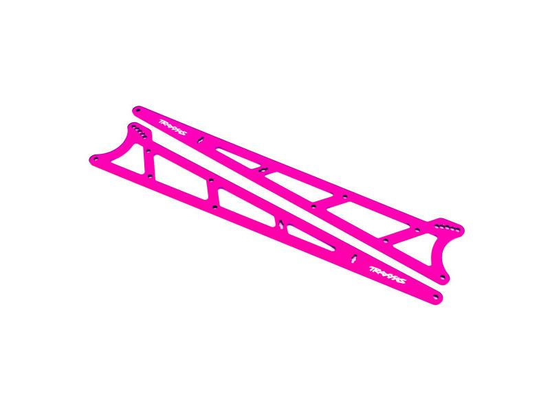 Traxxas boční rám wheelie růžový (2), TRA9462P