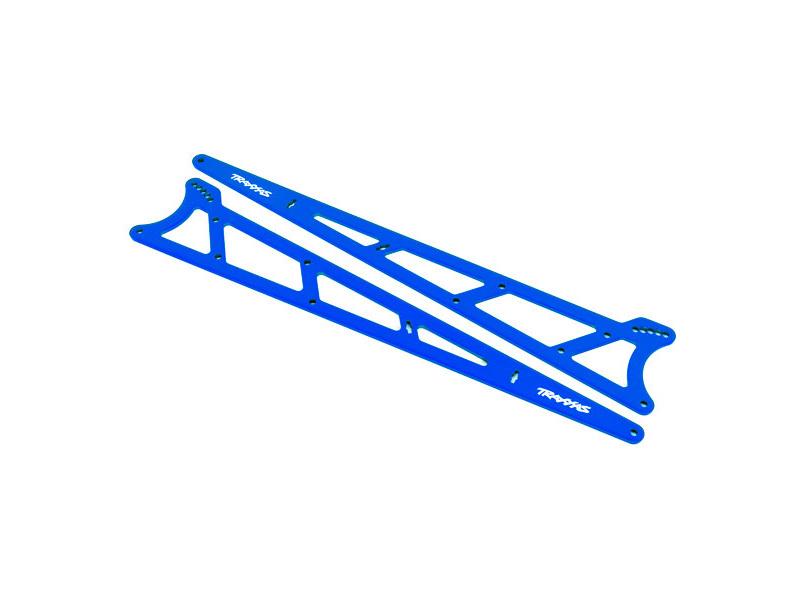 Traxxas boční rám wheelie modrý (2), TRA9462X