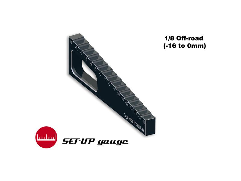 Měřidlo propadu ramen 1:8 (-16.0mm až 0mm)
