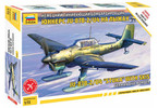 Zvezda Snap Kit Junkers JU-87B-2/U4 Stuka with skis (1:72)