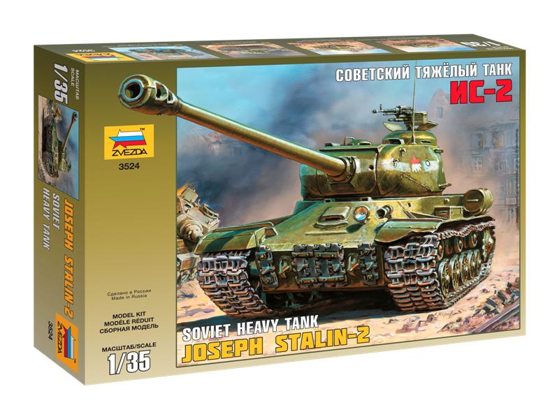 Zvezda těžký sovětský tank IS-2 (1:35)