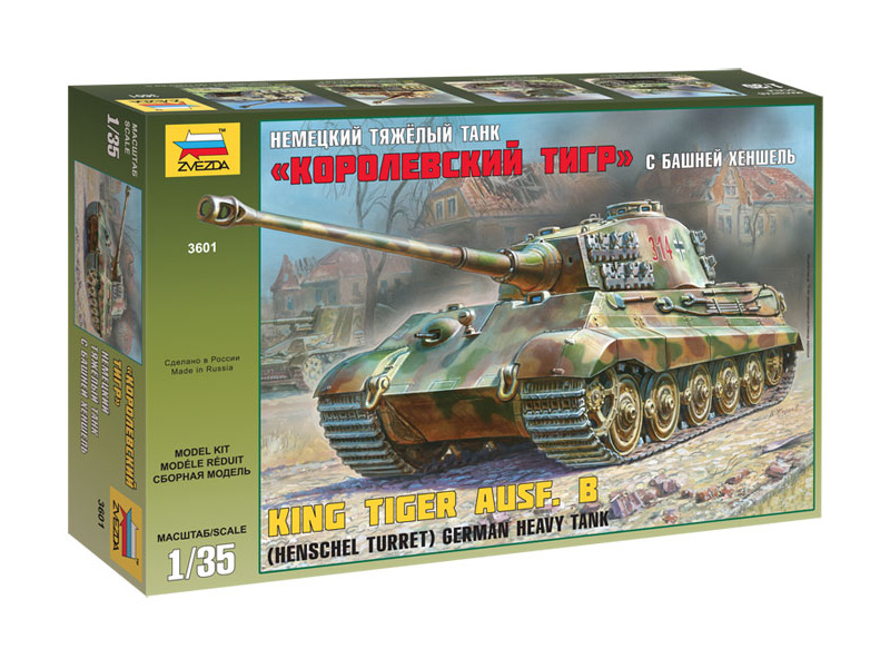 Zvezda tank Henschel Kingtiger (1:35)