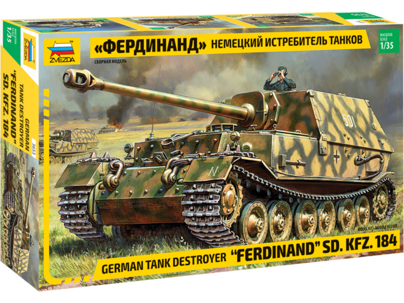Zvezda SdKfz 184 Ferdinand (1:35)