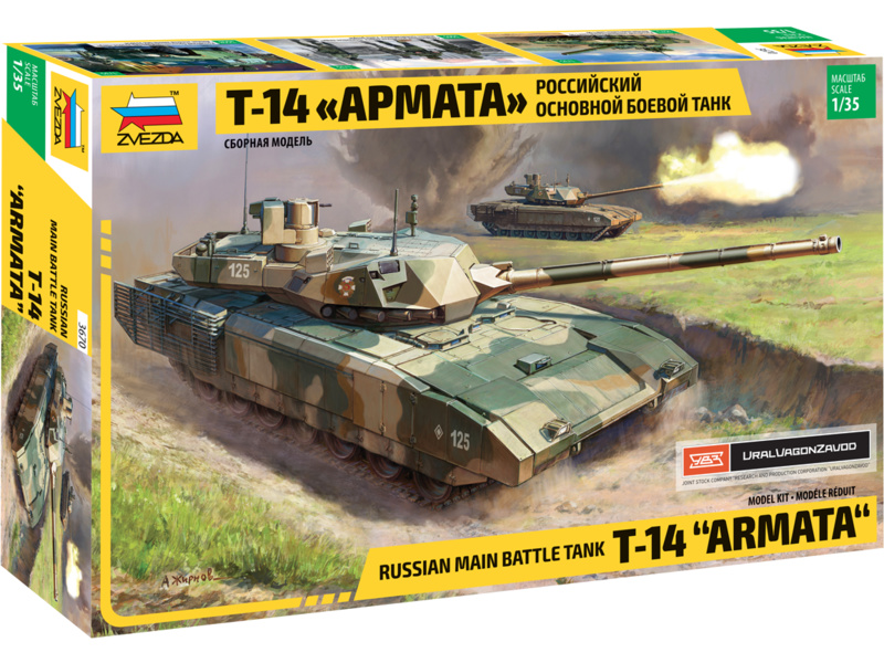 Zvezda ruský tank T-14 Armata (1:35)