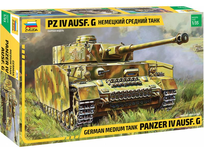Zvezda Panzer IV Ausf.G (1:35)