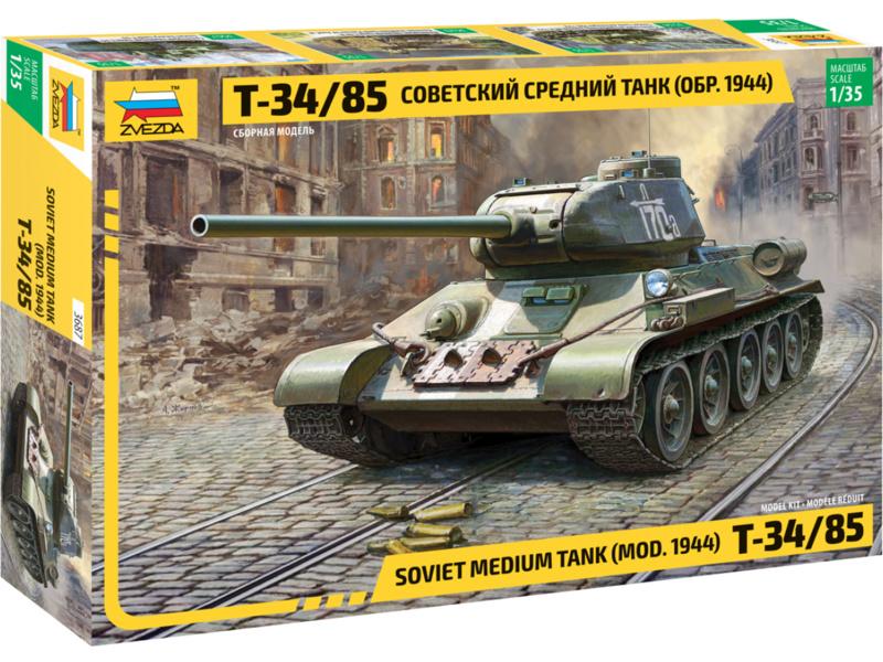 Zvezda T-34/85 (1:35)