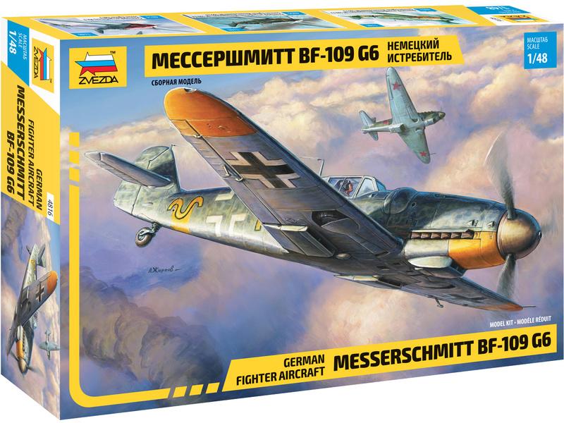 Zvezda Messerschmitt Bf-109 G6 (1:48)