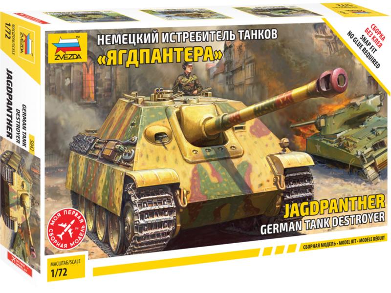 Zvezda Snap Kit - Jagdpanther (1:72)