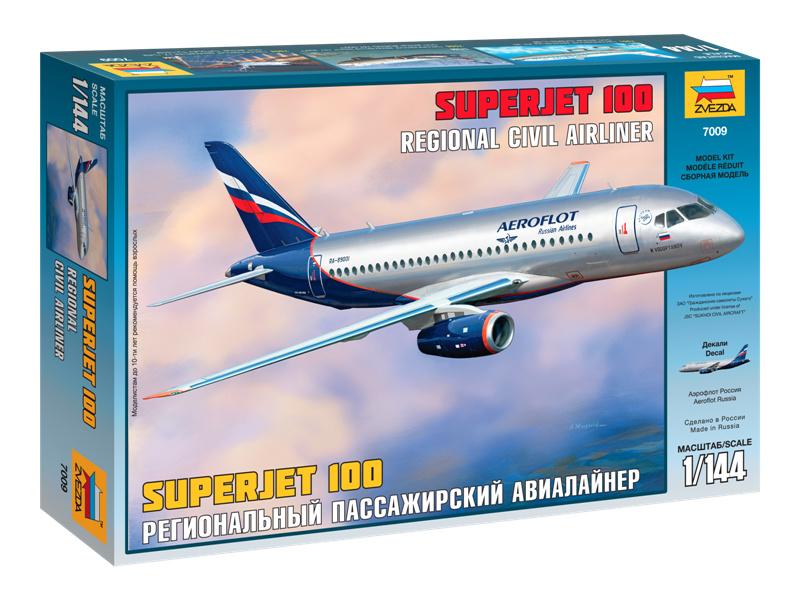 Zvezda Sukhoi Superjet 100 (1:144)
