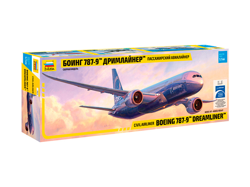 Zvezda Boeing 787-9 Dreamliner(1:144)