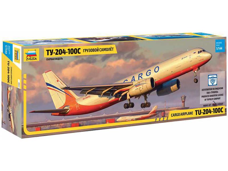 Zvezda Tupolev Tu-204-100 Cargo (1:144)