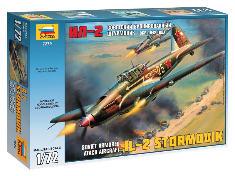 Zvezda Iljušin IL-2 Stormovik (1:72)