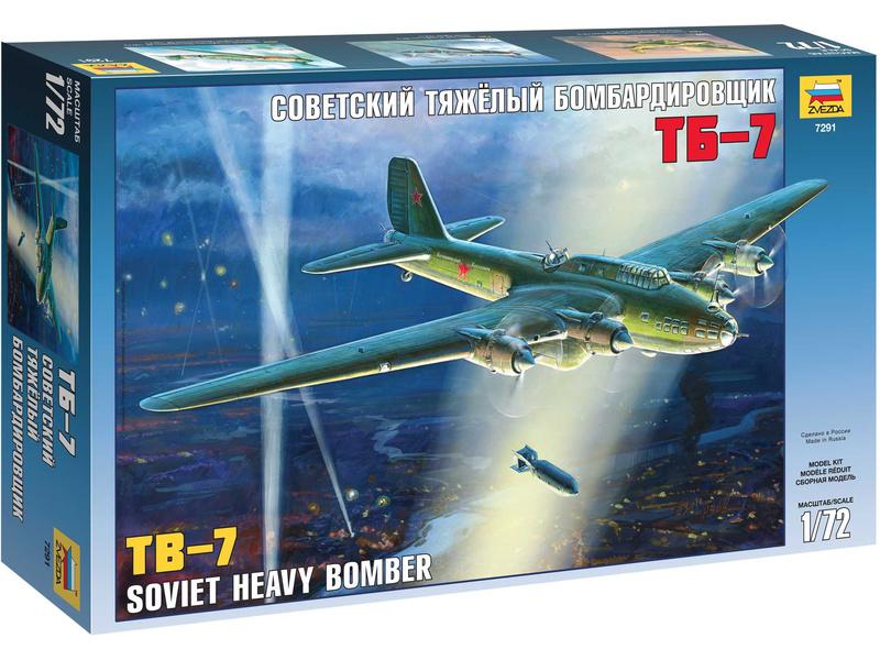 Zvezda Petljakov Pe-8 / TB-7 (1:72)