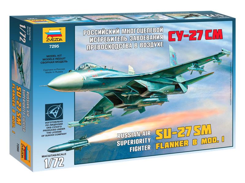 Zvezda Sukhoi SU-27SM (1:72)