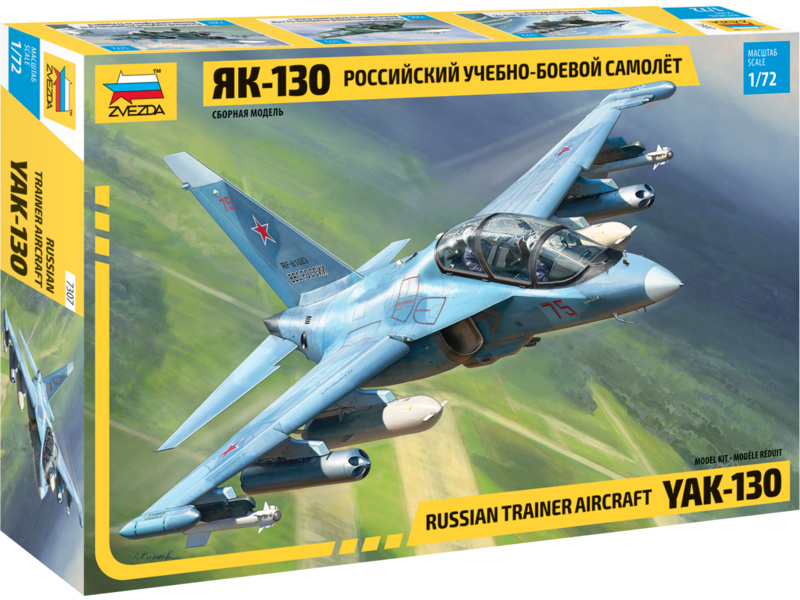 Zvezda Jakovlev Yak-130 (1:72)