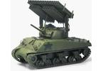 Academy M4A3 Sherman a T34 Calliope (1:35)