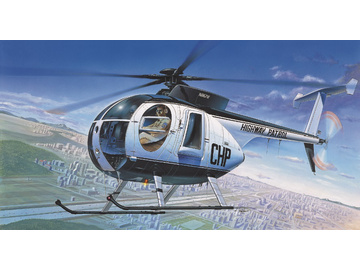 Academy Hughes 500D Police Helicopter (1:48) / AC-12249