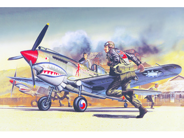 Academy Curtiss P-40B (1:72) / AC-12456