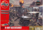 Airfix D-Day Sea Assault 75. výročí (1:72) (Giftset)