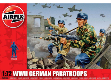 Airfix figurky WWII German Paratroops (1:72) / AF-A01753