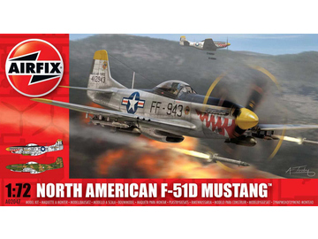 Airfix North American F-51D Mustang (1:72) / AF-A02047