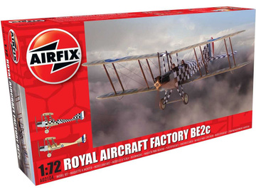 Airfix Royal Aircraft Factory BE2c Scout (1:72) / AF-A02104