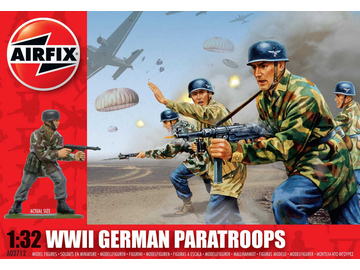 Airfix figurky WWII German Paratroopers (1:32) / AF-A02712