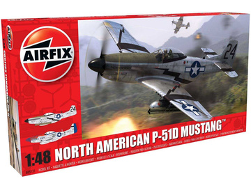 Airfix North American P-51-D Mustang (1:48) / AF-A05131