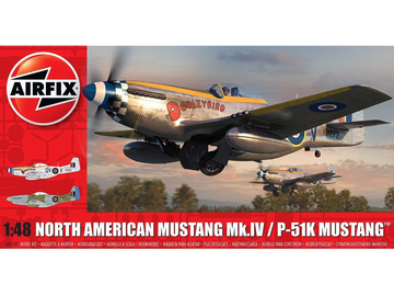 Airfix North American Mustang Mk.IV (1:48) / AF-A05137