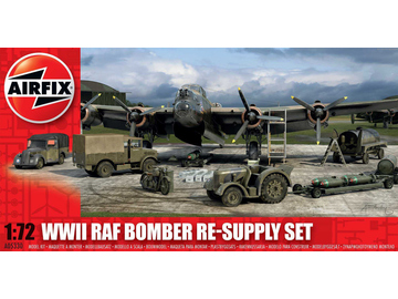Airfix diorama Bomber Re-supply Set (1:72) / AF-A05330