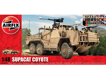 Airfix military Supacat HMT600 Coyote (1:48) / AF-A06302