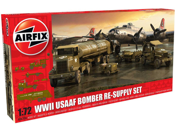 Airfix diorama USAAF 8TH Airforce Bomber Resupply Set (1:72) / AF-A06304