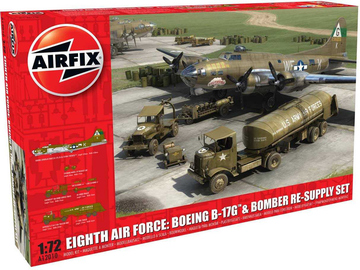 Airfix diorama Eighth Air Force: B-17G a Bomber Re-supply Set (1:72) / AF-A12010